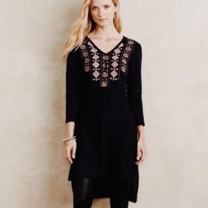 • ANTHROPOLOGIE AKEMI + KIN • embroidered sweater